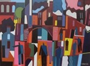 Manchester | Painting by Peter Stanaway