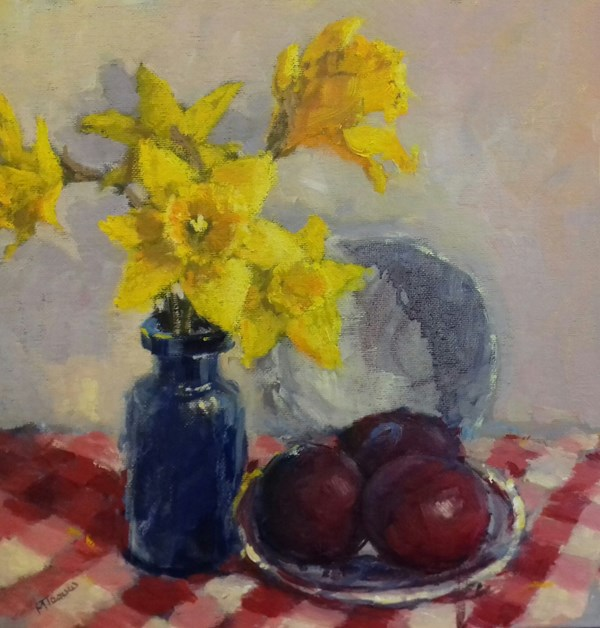Daffodils and Plums